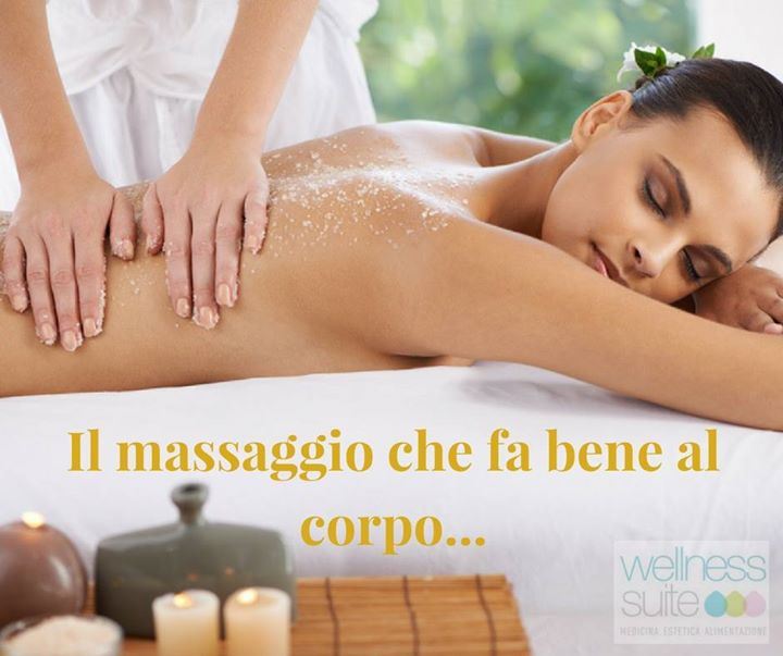 Lo scrub: il massaggio che fa bene al corpo……