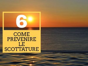 COME TI EVITO UNA SCOTTATURA  #parte2 Continuano i nostri consigli per evitare i…