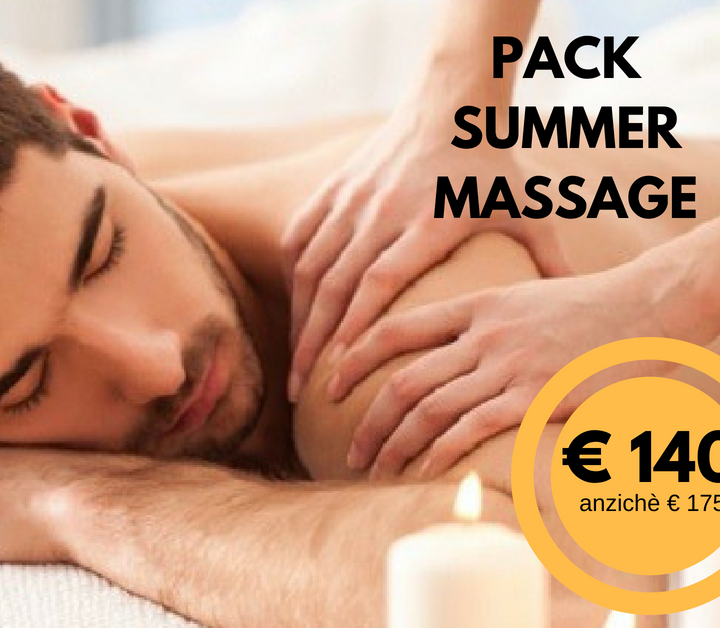 PACK SUMMER MASSAGE