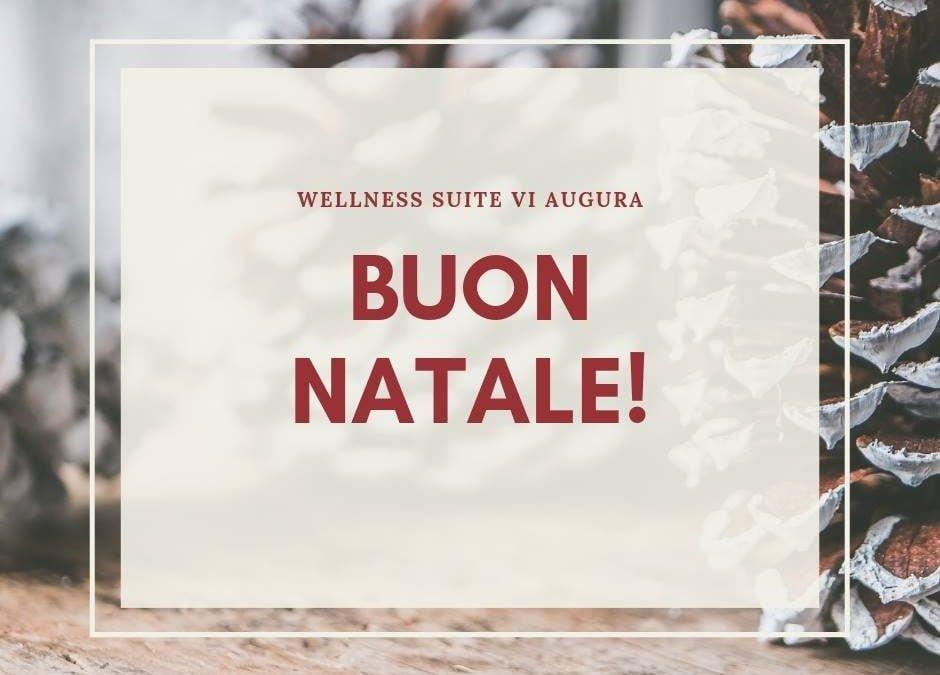 BUON NATALE 2018  Wellness Suite vi augura un felice e sereno Natale…  Vi rico…