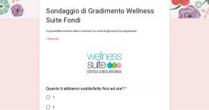 Sondaggio di Gradimento Wellness Suite Fondi