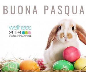 BUONA PASQUA 2019 Lo staff di Wellness Suite vi augura