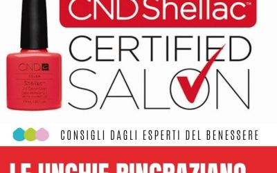 CND SHELLAC CERTIFIED SALON  L'autunno da Wellness Suite porta tante novità…